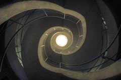 Helix Effect  Explore #102 (Subversive Photography) Tags: abandoned stairs spiral belgium pov urbandecay explore urbanexploration scifi derelict hdr urbex hofvanb danielbarter