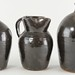 4002. (3) Albany Slip Glazed Utilitarian Pieces