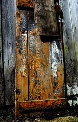 CIPHERTEXT (simongavin83) Tags: wood texture letters grain worn lid ourdailychallenge nikond5100