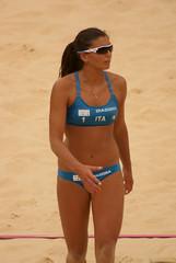 Marta Menegatti - London 2012 Olympic Women's Beach Volleyball - Canada vs Italy (littledutchboy) Tags: italy canada london beach womens volleyball olympics 2012