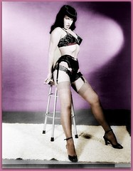 Bettie Page (OFENA1) Tags: stockings shoes cheesecake nylons