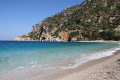 Onde su onde (cicciobaudo) Tags: sea cliff mountain beach canon eos mare greece grecia roccia montagna spiaggia karpathos scogliera apella 400d