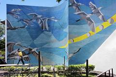 (Mark Panszky) Tags: park birds mural taipei mosai 228park