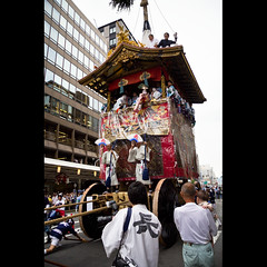 (Masahiro Makino) Tags: festival japan photoshop canon eos kyoto adobe   lightroom gionmatsuri  f456 efs1785mm  60d naginataboko  trialpulling 20110712153307canoneos60dls640p