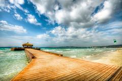Cesme, Turkey (Nejdet Duzen) Tags: travel sea cloud holiday kite beach turkey pier day cloudy trkiye deniz iskele tati izmir bulut turkei seyahat plaj eme lcabeach lcaplaj mygearandme