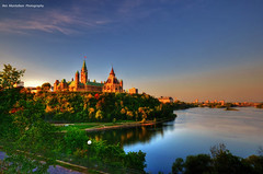 good morning ottawa (Rex Montalban Photography) Tags: sunrise ottawa hdr parliamentbuildings photomatix 12images rexmontalbanphotography pse9 photoshopelements9