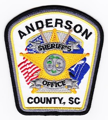 SC - Anderson County Sheriff's Office (Inventorchris) Tags: county sc public office peace cops south police safety anderson cop carolina service law enforcement sheriff patch emergency patches department officer officers sheriffs saftey