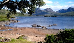 SS103925 (Baggybob70) Tags: camping wild mountain holiday west beach swimming landscape fire scotland highlands sand heaven paradise break