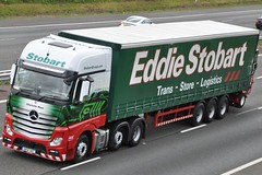Eddie Stobart Mercedes Benz Actros MP4 GK12 UAT (truck_photos) Tags: