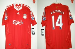 Liverpool F.C. 2008-2010 Home. Xabi Alonso #14. (mslopezs) Tags: home liverpool adidas fc alonso xabi 0810 bnwt 20082010