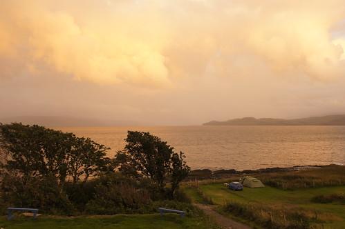 Rosy Sound of Mull