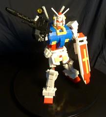 Gundam RX 78-2 Redux in Lego 9 (boyzwiththemosttoyz) Tags: lego gundam mecha mech rx782