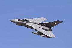 Poker (Alvaro Aviation) Tags: uk aviation airplanes jet duxford cambridgeshire raf militaryaviation jetwash raflossiemouth iwmduxford tornadogr4 duxfordairshow panaviatornado ef300mmf28lisusm septemberairshow roldemo fullab ef14xextenderiii xvrsqn canon1dx