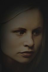 Kimberly (radonracer) Tags: kimberly portrait gesicht digiart paintit radonart face monochrome bw sw