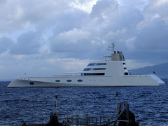 Luxury yacht - ''A'' (Chris Parker2012) Tags: italy boat italian yacht sorrento bayofnaples cruiser southernitaly a mostexpensive italiancoast andreymelnichenko