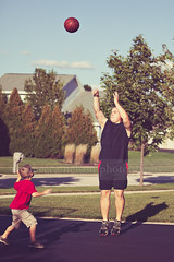 1 on 1 :) (Rebecca812) Tags: family boy portrait man love basketball sport togetherness kid shoot dad child play action candid father son neighborhood driveway care teach learn throw onthemove mentor bonding stopmotion 1on1 leisureactivity reallifemoment canon5dmarkii rebecca812