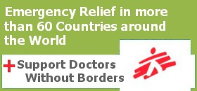 Doctors Without Borders- MSF banner