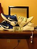 trade or sell me good shoes (TheShoeGod) Tags: blue shoes wrestling nike og combat speeds teals 2k4s kolats inflicts