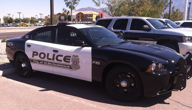 police albuquerque dodge charger 2013