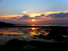 Sunset over Ile de R (David Alexander Elder) Tags: sunset sun david france twilight dusk sl elder alexander larochelle ileder iledere solier