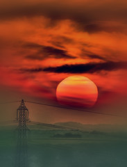 Telephoto Sunset [Explored] (bojangles_1953) Tags: