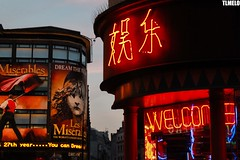 """Welcome to London"" - Piccadilly - London - England (TLMELO) Tags: inglaterra bridge red england sky food london clock westminster rio thames towerbridge river underground jubilee chinese nelson games palace queen piccadillycircus londres years olympics anos riverthames gherkin elisabeth 60 jogos westminsterbridge reinounido palaceofwestminster olimpics rainha lesmiserables london2012 unitedkingdon riotmisa olmpicos tmisa dreamthedream jubileu mygearandme lordnelsonbigben"