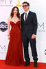 Kat Dennings and Nick Zano 64th Annual Primetime Emmy Awards, held at Nokia Theatre L.A. Live - Arrivals Los Angeles, California