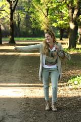 Flor! (Ariadna Sprio) Tags: portrait argentina girl buenosaires retrato flor modelo canon50mmf18 junin canon450dxsi