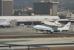 06-Nose Coming Down (jotulloch) Tags: california unitedstates nasa shuttle lax elsegundo endeavour ov105