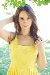 Hannah Marie Hines_0146 (Ciara*) Tags: light summer woman green yellow whimsy