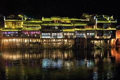 Fenghuang at Night (Jim.J.H) Tags: china fenghuang