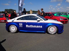 Audi TT FV (911gt2rs) Tags: treffen meeting show tuning tief low stance coupe motorsport racing rothmans blau blue tts