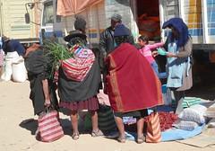 Bolivian women (magellano) Tags: tarabuco bolivia donna mujer woman vestito tradizionale trditional dress costume strada street candid mercato market mercado