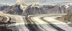 Superhighways of Ice (Steven Olmstead) Tags: glacier mountains moraine ice yukon canada d610