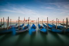 Gondola's in Venice (Tom Roeleveld) Tags: venetie tags italie steden venice gondola longexposure olympusomdem10 olympusmzuikodigital918mmf456ed