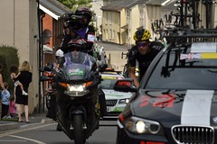The Cameraman _DSC2492 (junglelovex) Tags: bike sport cycling tourofbritain stage6 sidmouthtohaytor crediton devon 2016 cameraman