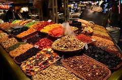 La Boqueria Mercat - They say if you can't find the food you're looking for here then it doesn't exist #barcelona #moments #explore #wanderlust #travel #europe #summer #triggercell #mhighlights16 #beautiful #amazing #contiki #adventure #vacation #roadtrip (triggercellhd) Tags: favorite triggercell photography