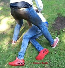 jeansbutt10613 (Tommy Berlin) Tags: men jeans butt ass ars levis fight