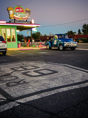 Route 66 (Channed) Tags: america amerika arizona kingman noordamerika route66 us usa vs verenigdestaten chantalnederstigt diner restaurant roadtrip unitedstates