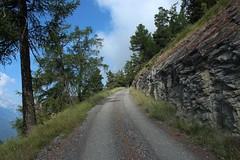 retour  Ausserberg (bulbocode909) Tags: valais suisse chemins arbres montagnes nature nuages paysages vert bleu