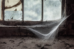 Web (Skier1437) Tags: dualiso canon abandoned urbex urban exploration eastcoast decay urbandecay mill buildling textile textilemill fabric sheets sheet industry abandonedindustry factory industrialrevolution industrial cobweb cob cobwebs spider old