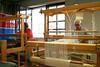 (RAIL REED & weaving) Tags: looms weaver weaving summercourses weavehackers