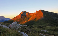 Col di Lana (Vid Pogacnik) Tags: dolomiti dolomites mountain morning twilight dawn coldilana cimasief outdoor
