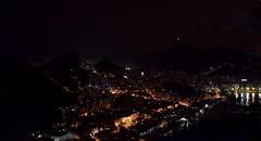 Cristo Iluminado - Rio de Janeiro (crismdl) Tags: podeaucar urca cristoredentor rio2016 rio rj riodejaneiro errejota noite night nightview landscape brazil brasil bresil