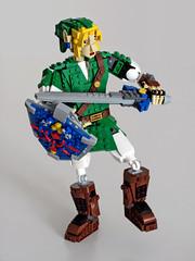 Link careful balancing (NKubate) Tags: lego ideas link zelda nintendo nkubate hero mastersword
