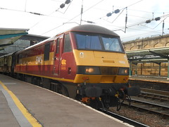 Carlisle (ee20213) Tags: carlisle dbschenker ews class90 theayrapparent hertfordshirerailtours 25kv collingwood 90020