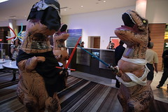 IMG_9191 (wesuah) Tags: dragon con dragoncon 2016 tyrannosaur costume kylo rex tyrannosaurs rey