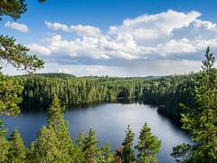 Approaching Rain (MikeAncient) Tags: sade rain kuhmoinen suomi finland isojärvi järvi lake maisema maisemakuva maisemakuvaus landscape landscapephotography geotagged