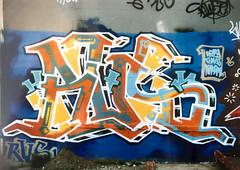 RVS by Revers, HTK, US (1996) (Jonny Farrer (RIP) Revers, US, HTK) Tags: graffiti bayareagraffiti sanfranciscograffiti sfgraffiti usgraffiti htkgraffiti us htk revers rvs devo voidr voider reb halt