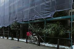 Expecting.... (Elly Snel) Tags: amsterdam city stad street straat fiets bike constructionwork onderhoudswerk